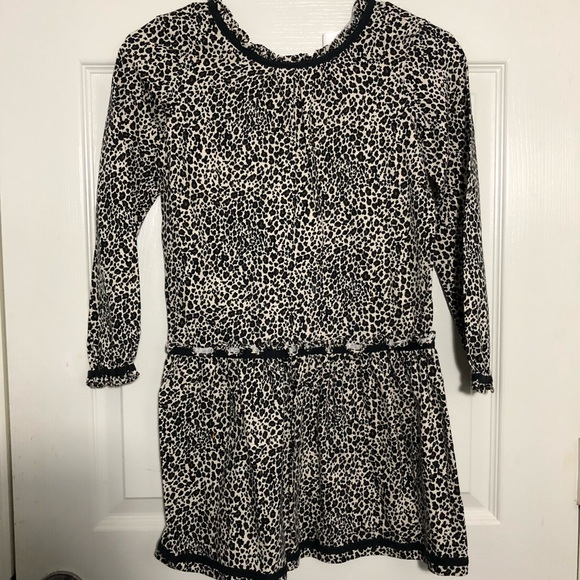 Hanna Andersson Other - Hanna Andersson Cheetah Print Dress Girls 130 or 8